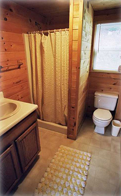 The cabins on harvey39s lake west barnet vermont for Bathroom auction sites