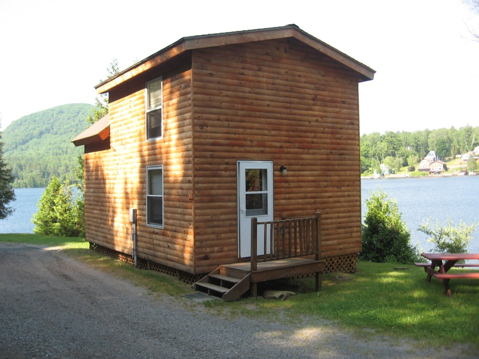 the cabins on harvey 39 s lake west barnet vermont
