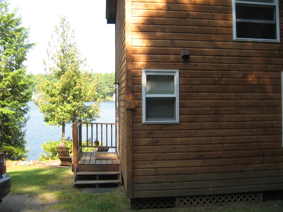 The Cabins on Harvey\'s Lake, West Barnet, Vermont, Waterfront ...