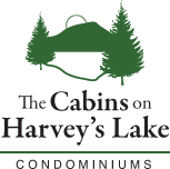 The Cabins on Harvey's Lake, West Barnet, Vermont, Waterfront Rentals